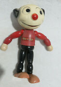 Pete The Pup 1927 Walter Lanz Cartoon Character 9 Wooden Figure Vintage