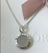 Authentic Pandora Silver Signature Necklace 390375cz-70 27.6in S925 With Pouch