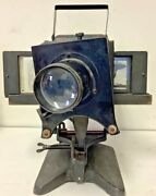 Vintage Slide Projector Balopticon Bausch And Lomb Antique No. 115189 1900's-1930s