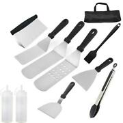 Outdoor Camping Necessary Bbq Tools Set Kitchen Reusable Stainless Steel Barbecu