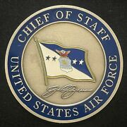 General John Jumper Chief Of Staff United States Air Force Challenge Coin