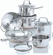 Paderno 12-piece Stainless-steel