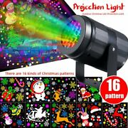 Christmas Projector Laser Light Led Moving Outdoor Landscape Stage Rotating Lamp