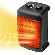 1500w Electric Heaters Portable With Thermostat, Safe And Quiet, Space Heater