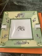 Hermes Paris Elephant Design Ashtray Accessory Case With Box Shipping From Japan