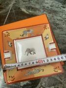 Hermes Paris Ashtray Accessory Case Elephant Design With Box Shipping From Japan
