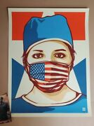 Thomas Wimberly Usa Forefront Art Print Poster Nurse Signed Numbered