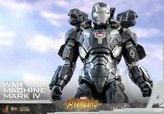Prompt Decision New Unopened Hot Toys Diecast War Machine Mark 4 Avengers Infi