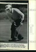 1974 Press Photo Miller Barber, Golfer At Tournament Of Champions In California
