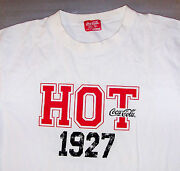 Coca Cola Drink / Hot Tops Designed By Bench / Usa 1927 / White T-shirt Size M