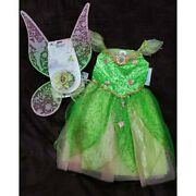 Us Disney Store Tinkerbell Costume Shining Feathers Halloween From Japan