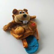 Snowcap Trading Co Canadian Beaver Plush Toy Backpack