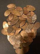 Elongated Penny Collection 76 Disney Pennies