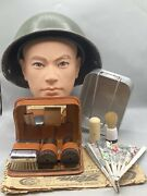 Post Ww2 British Army Soldiers Uniform Mkiv And Personal Items Set Korean War
