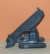 1950and039s Marx Blue Conveyor For Construction Camp Playsets Etc