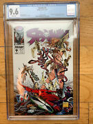 Spawn 9 Cgc 9.6 1st Appearance Of Angela And Medieval