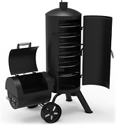Dyna-glo Signature Series Dgss1382vcs-d Heavy-duty Vertical Offset Charcoal Smok