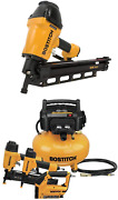 Bostitch Framing Nailer Round Head 1-1/2-inch To 3-1/2-inch F21pl And Air Comp