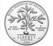 Platinum 2021 First Amendments Freedom Of Religion From U.s. Mint W/authenticity