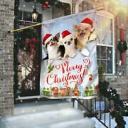 New Chihuahua. Merry Christmas Flag Christmas Gift Home Decor Best Price