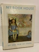 Vintage 1971 My Book House Hardcover Story Book 3 Up One Pair Of Stairs