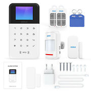 Kerui Wifi+gsm Home Security Alarm System Pir Motion Detector Voice Control A9t3