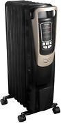 Pelonis 14a Electric 1500w Oil Filled Radiator Heater With Safety Protection, Le