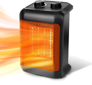 Beyond Breeze Space Heater, 1500w Ceramic Portable Electric Heater, Small Heater