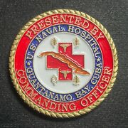 Us Naval Hospital Guantanamo Bay Commanding Officer Challenge Coin