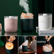 Room Natural Crystal Stone Aromatherapy Humidifier Air Mist Sprayer Accessories