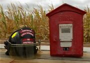 Gamewell Fire Alarm Station Box, Vintage Emergency Fire Fighting Pull Box C,