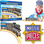 The Polar Express Real Wood Toy Train Set For Kids Age 3+ Assorted Masterpiece