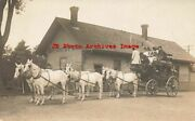 Depot Maine Bryantand039s Pond Rppc Railroad Station Stage Coach