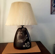 C. 1950's Potters Of Wall Street Harris Strong Ceramic Lamp. Rare Signed Piece