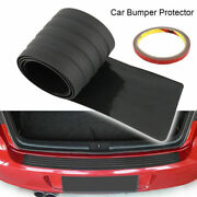 For Bmw X3 G01 18-19 Black Outer Rear Bumper Protector Plate Trunk Tread Cover