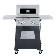 Top Selling. Cuisinart Two Burner Propane Gas Grill With Stainless Foldable Side
