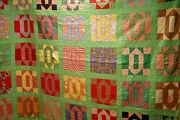 Q 42, Vintage Quilt, Hand Quilted, Cutter, Patchwork, 60 X 84 In