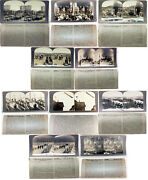 Stereoview Wwi Keystone Volumes I And Ii 95 Of 100 Cards And Box Cards Great, Box Ok