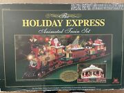 The Holiday Express Animated Train Set