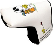 Lite Pater Cover Snoopy Golfer Pin L Head Cover H-330 From Japan
