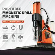Magnetic Drill Press Machine 2500w Base Metal Drilling Tapping Machine Andphi120mm