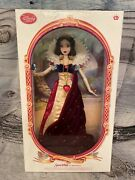 Disney Store Limited Edition 17'' •snow White• Holding Apple Doll New 1/5,000