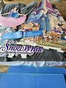Disney Collection Snow White 1987 Theater Standee Display Poster Dwarves Castle
