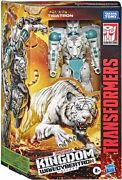 Transformers Wfc Kingdom 7 Figure Voyager Class Wave 4 Tigatron In Stock