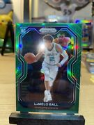 Lamelo Ball 2020-21 Panini Green Prizm Rookie Card 278 Rc