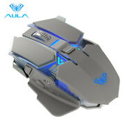 Aula Wireless Mouse 2.4ghz Ergonomic Backlight Mice Plug And Play Gaming Pc Mouse