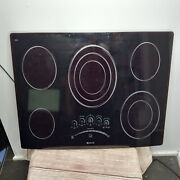 Jenn-air Touch Control Electric 5 Burner 36 Glass Radiant Surface Cooktop