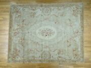 8and039x10and039 Charles X Design European Savonnerie Thick And Plush Rug R36909