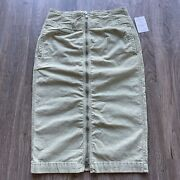 Free People Skirt Size 30 New With Tags Green