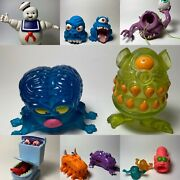 Vintage Kenner The Real Ghostbusters Ghost Lot Stay Pufttrapsbug Eye Etc